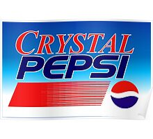 Crystal Pepsi Vaporwave Poster