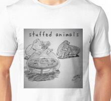 "PUN COMIC - ""STUFFED ANIMALS"" Unisex T-Shirt"
