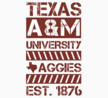 Texas A&M University Kids Tee