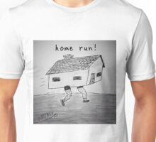 "PUN COMIC - ""HOME RUN!"" Unisex T-Shirt"