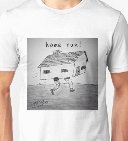 "PUN COMIC - ""HOME RUN!"" Unisex T-Shirt"