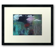 forest cottage Framed Print