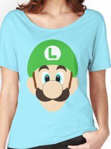 Simplistic Luigi Women's Relaxed Fit T-Shirt