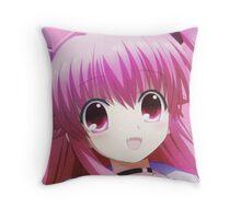 Yui (Angel Beats) Throw Pillow