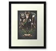 Sons of Mischief Framed Print