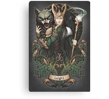 Sons of Mischief Canvas Print