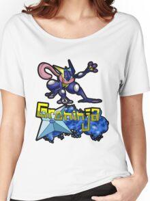 Greninja Pokemon Tee Women's Relaxed Fit T-Shirt