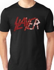 SLAYER Metal Band Logo Blood Spatter BLACK Unisex T-Shirt