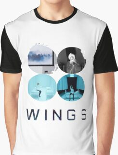BTS-WINGS-LIES [White] Graphic T-Shirt
