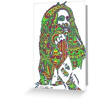 Rasta Vibrations Greeting Card