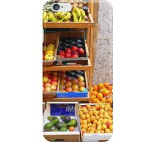 The Fruit And Vegetable Shop iPhone Case/Skin