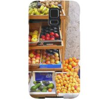 The Fruit And Vegetable Shop Samsung Galaxy Case/Skin