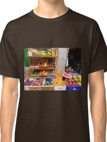 The Fruit And Vegetable Shop Classic T-Shirt