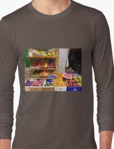 The Fruit And Vegetable Shop Long Sleeve T-Shirt