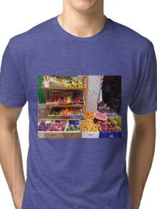 The Fruit And Vegetable Shop Tri-blend T-Shirt