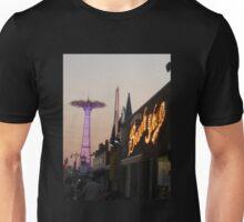 Coney Island sunset Unisex T-Shirt