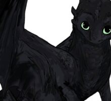 """Toothless"" Sticker"