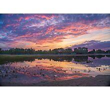 Sunset at Beach Photographic Print