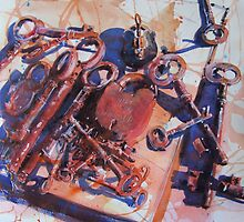 'All Keyed Up' by Julie Simmons