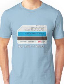 Phone card scheda telefonica Unisex T-Shirt