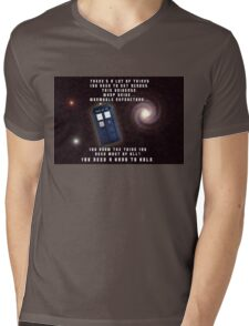 Doctor Who You need a hand to hold Mens V-Neck T-Shirt