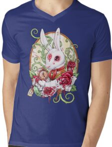 Rabbit Hole Mens V-Neck T-Shirt