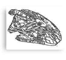 Milennium Falcon Canvas Print