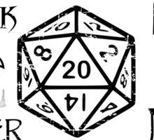 RPG Classes Sticker
