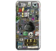 Witch Supplies Watercolor Painting iPhone Case/Skin