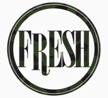 Fresh Camouflage T-shirt by Justin Spooner