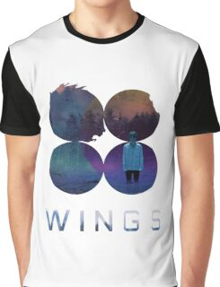 BTS-Jimin-LIES [White] Graphic T-Shirt