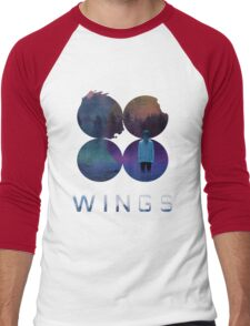 BTS-Jimin-LIES [White] Men's Baseball ¾ T-Shirt