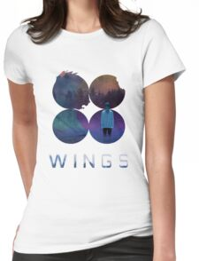 BTS-Jimin-LIES [White] Womens Fitted T-Shirt