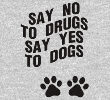 Say Yes To Dogs by sabrinasinbin