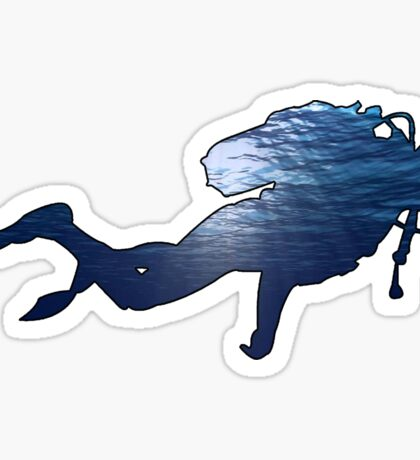 Scuba the Depths  Sticker
