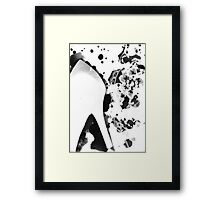 In Her Shoes Framed Print