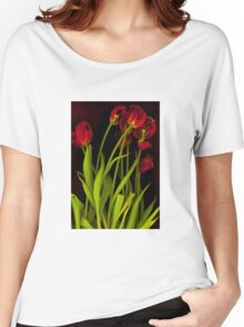 Hot Tulips Women's Relaxed Fit T-Shirt