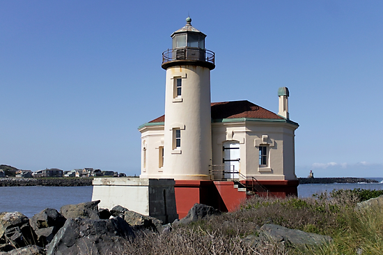 Coquille River Lighthouse 1896 by doubleheader