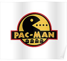 JURASSIC PAC-MAN Poster