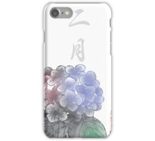 Inked Petals of a Year February iPhone Case/Skin