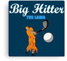 Big Hitter the Lama - Caddyshack Canvas Print