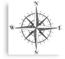 Compass Rose Canvas Print