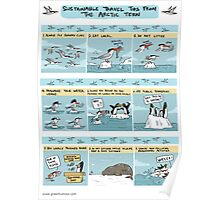 Sustainable Travel Tips from the Arctic Tern Poster