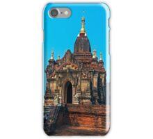 Bagan Pagoda. iPhone Case/Skin
