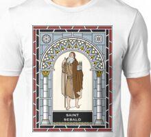 ST SEBALD or SEBALDUS under STAINED GLASS Unisex T-Shirt