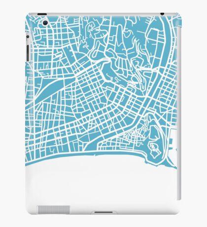Nice Map - Baby Blue iPad Case/Skin