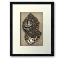 Ornate Helmet Framed Print