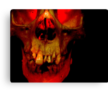 Teeth for a Tooth Canvas Print