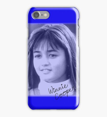 Winnie Cooper iPhone Case/Skin