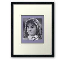 Winnie Cooper Framed Print